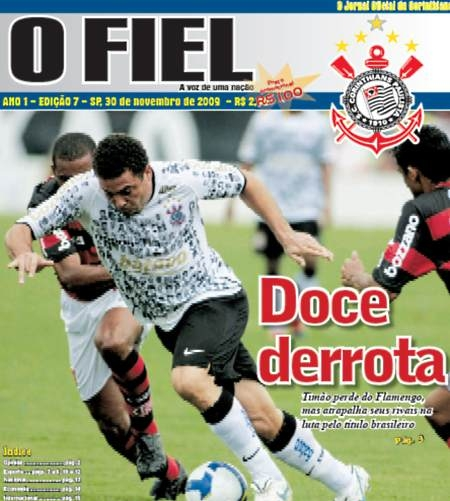 O fracasso e o vexame de O Fiel. O jornal oficial do Corinthians...