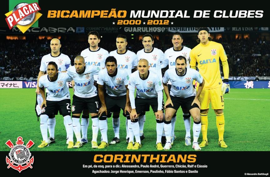 Salve o Corinthians, campeão dos campeões!