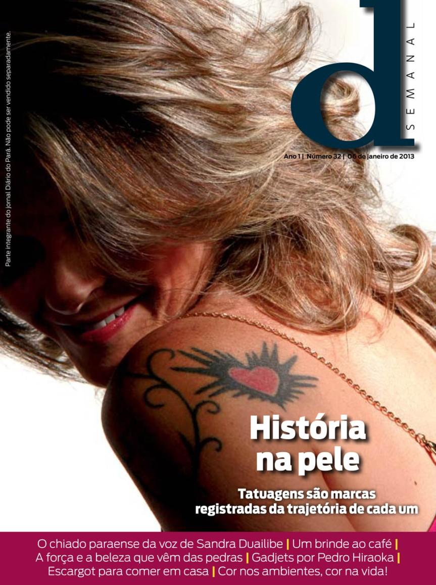 Capa da D Semanal, edição de domingo, 06