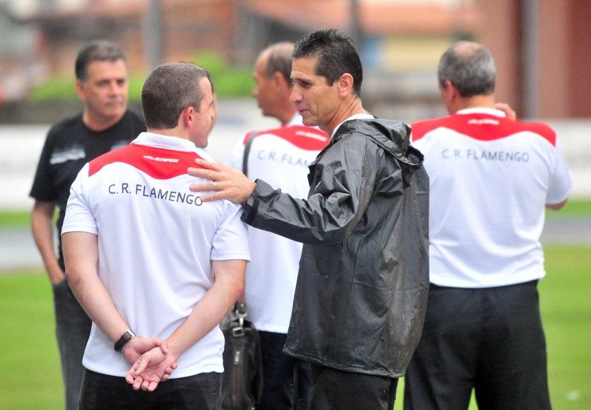 Flamengo treino em belem copa Brasil-Mario Quadros