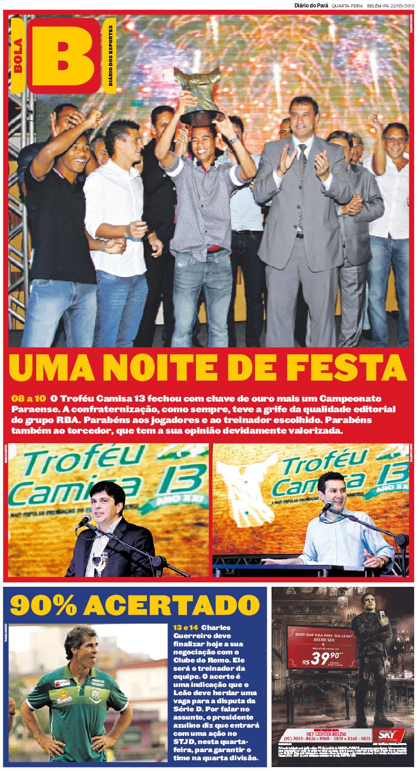 CAPA BOLA_22-05-2013