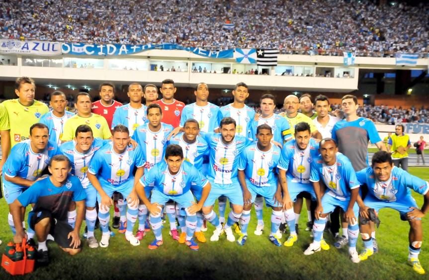 PSC time Campeao 2013-Mario Quadros