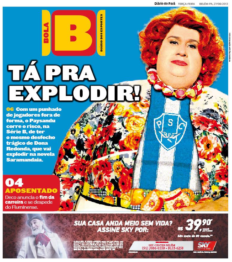 CAPA DO BOLA_27-08-2013