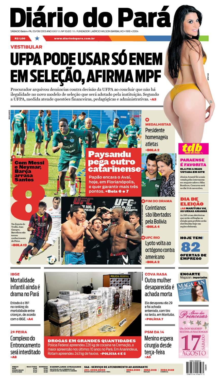 capa jornal 03-08-2013