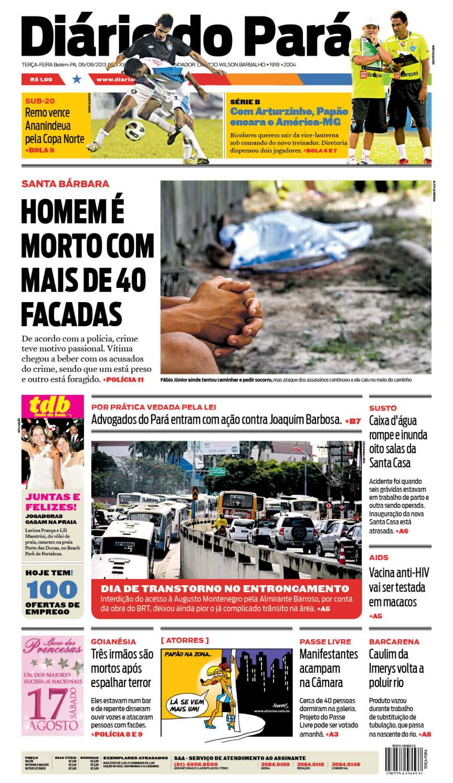 capa jornal 06-08-2013
