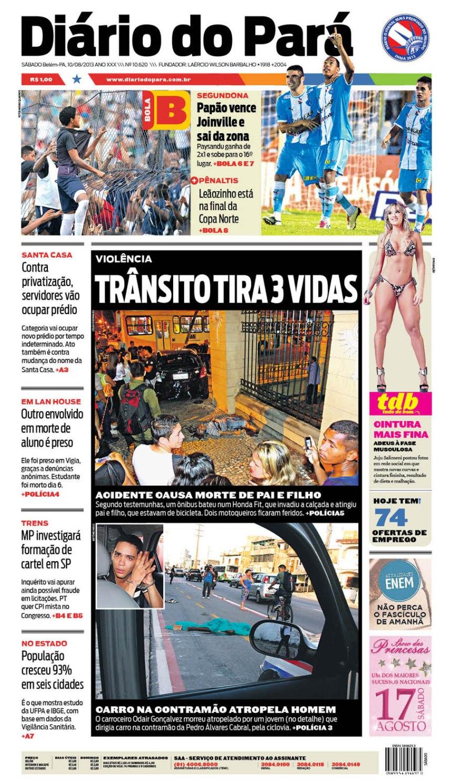 capa sabado 10-08-2013 NOVA