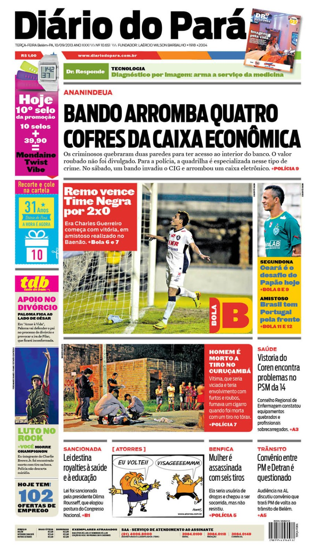 capa terça 10-09-2013