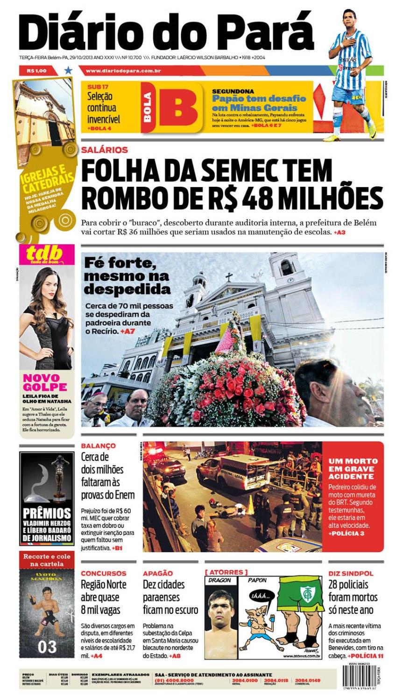 capa terça-feira 29102013