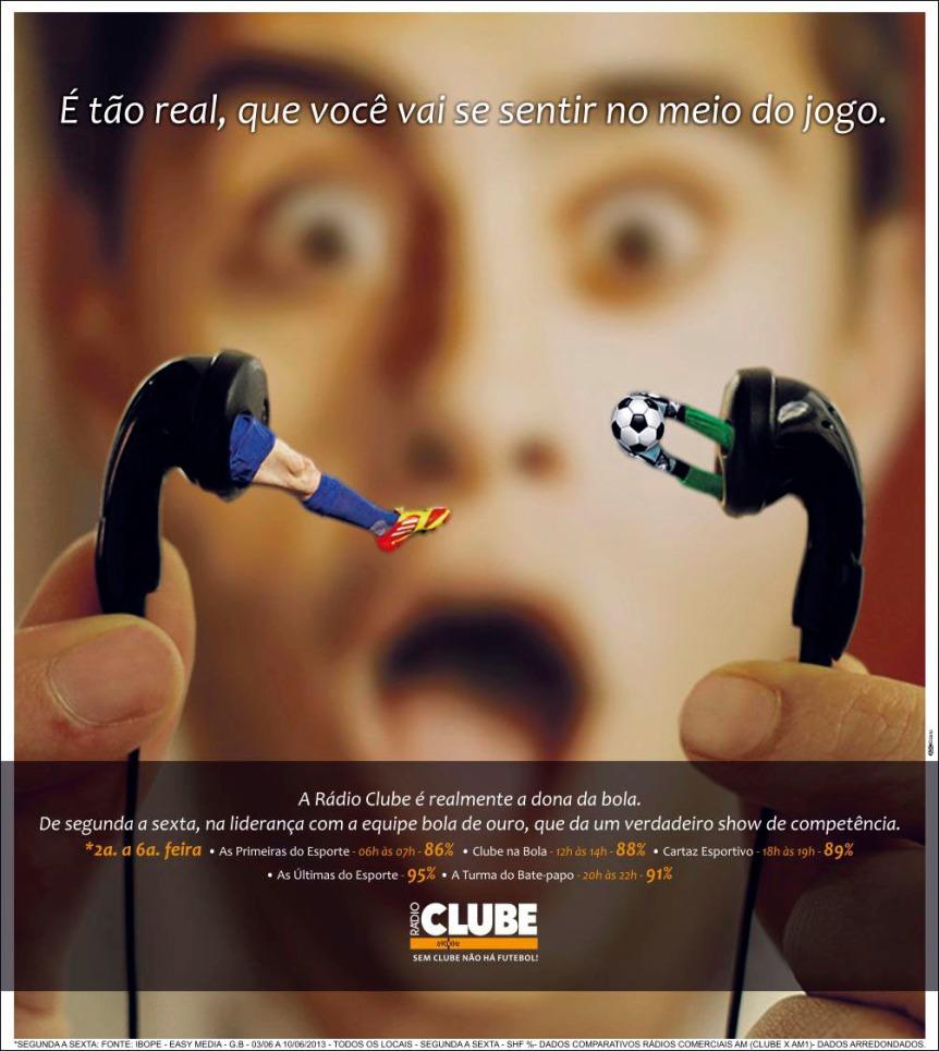 Rádio Clube _ IBOPE_ Segunda a Sexta _ Tabloide