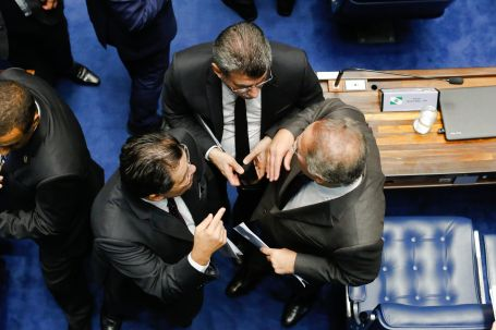 Senado-AlexandreMoraes-PelnarioSenado-STF-FotoSergioLima-22fev2017.