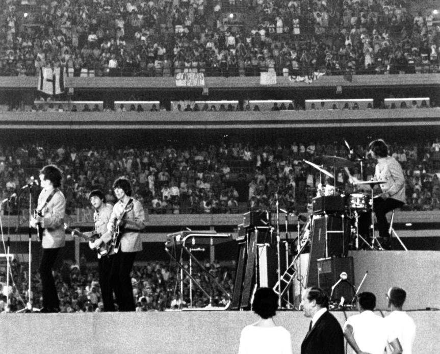 USA NY Beatles Concert