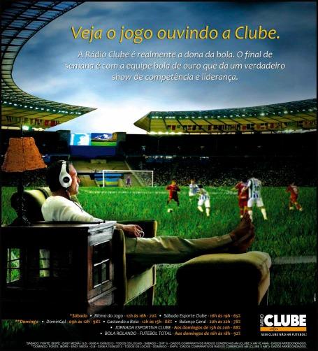 Rádio Clube _ IBOPE _ Sábado e Domingo _ Tablóide