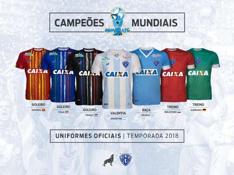 8feb93fa34 Papão homenageia campeões do mundo na nova linha de uniformes – Blog ...