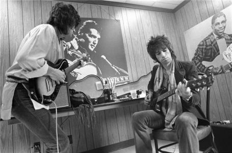 Keith and Ron backstage