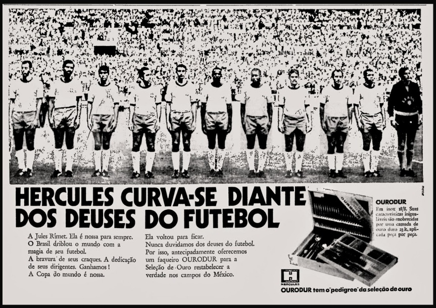 anuncio Hercules - 1970