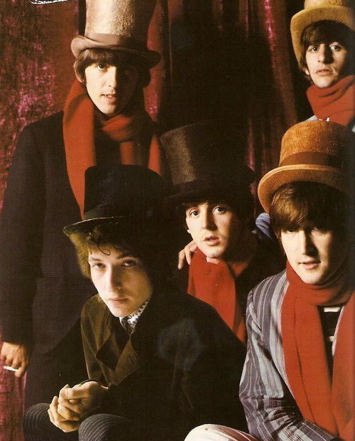 8ac237a5288f0fcdd98e54215a2bc5bf--top-hats-los-beatles