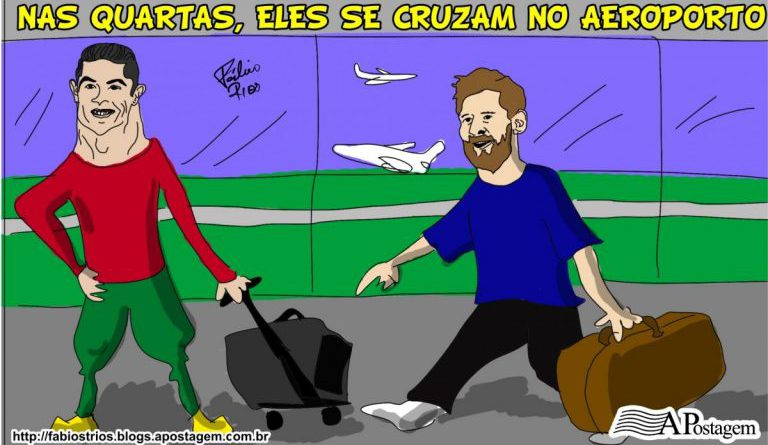 Cristiano-Ronaldo-e-Messi-se-cruzam-nas-quartas-no-Aeroporto-768x452