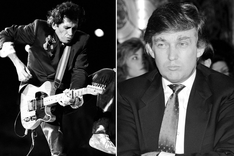 donald-trump-keith-richards-knife-fight