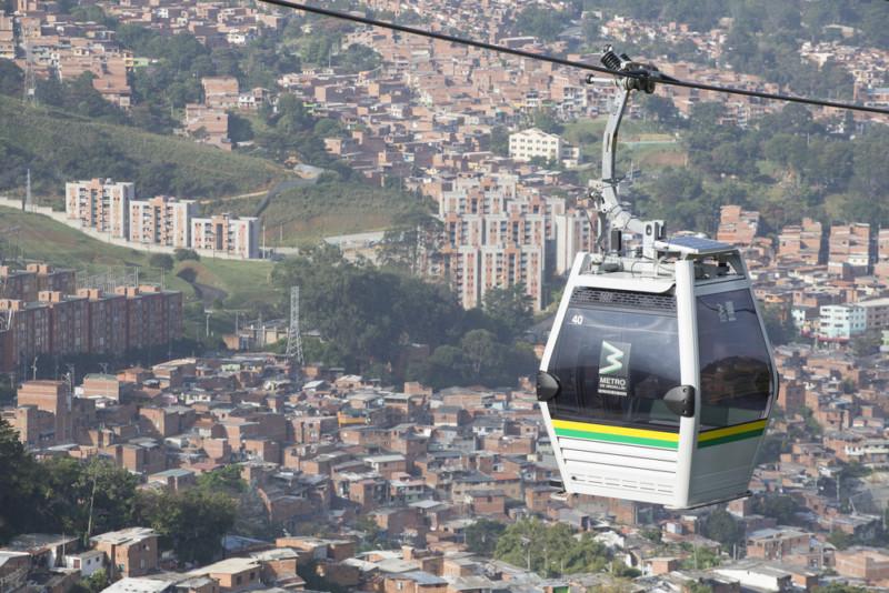 Teleférico-Medellín